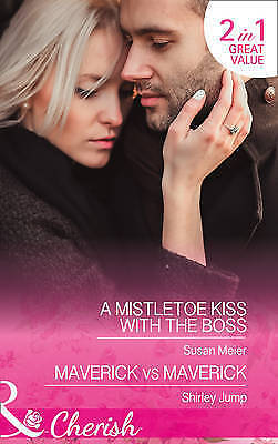 """AS NEW"" A Mistletoe Kiss With The Boss (Cherish), Jump, Shirley, Meier, Susan,"