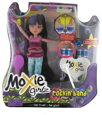 Moxie Girlz Rockin Band Puppe - Sophina, Sound Funktion, Uvp € 69 Neu Convenient To Cook