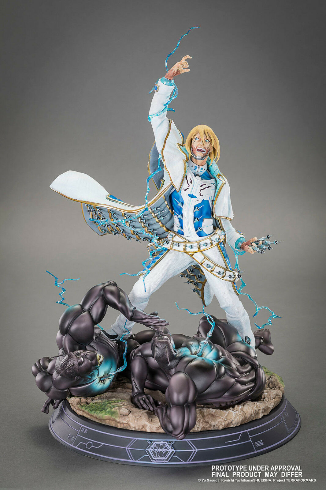 Adolf Reinhard HQS Tsume - Terra Formars High Quality Statue Limited SOLD OUT