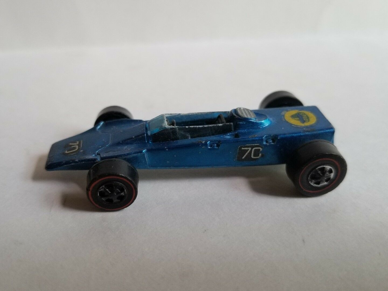 HOT HOT HOT WHEELS REDLINE 1969 blueE LOTUS TURBINE Mattel 90b3cf
