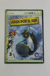 LOCOS POR EL SURF - Juego PC - Idioma Español,  Nuevo en Blister.