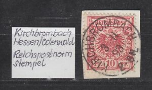 DR-Stempel-034-KIRCHBROMBACH-034-Hessen-Odenwald-3-11-93-2-3-N-bitte-ansehen