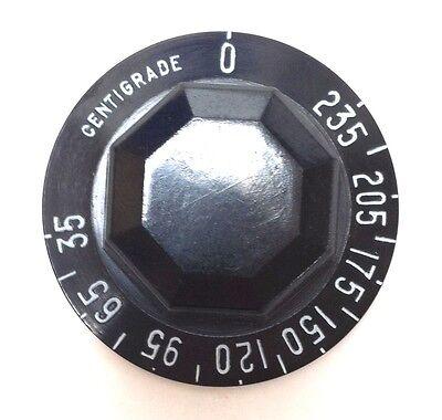 Robertshaw Control Knob  Z873000-100   200-550 F  BLACK Pack of 5