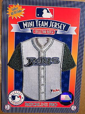 Baseball & Softball Fanartikel Angemessen Mlb Tampa Bay Rays Heim Mini-jersey 10.2cm Patch Von 2006