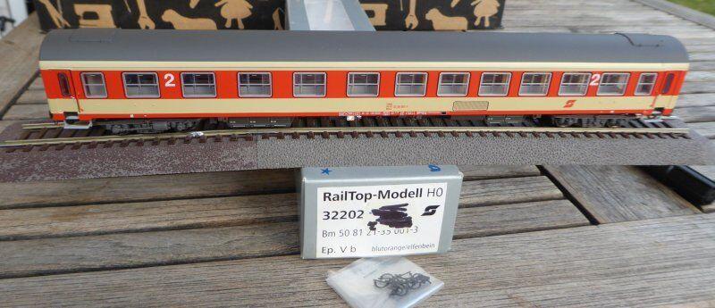 Railtop 32202 inlands-SCHNELLZUGWAGEN bmz of ÖBB Vintage 4 6 Neuwertig,