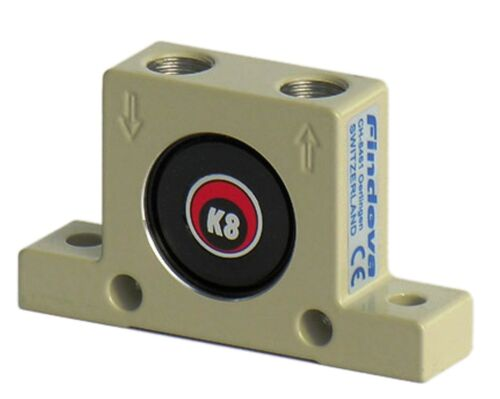 Made in Switzerland Findeva K8 Industrial Pneumatic Ball Vibrator K-Series