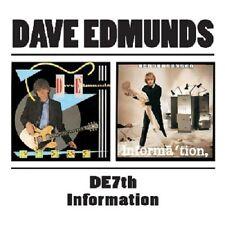 Dave Edmunds D.E.7th/Information 2on1 CD NEW SEALED
