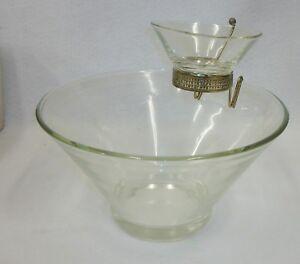 Vintage-Anchor-Hocking-Sparkling-Crystal-Chip-Dip-Set-Mint-in-Box