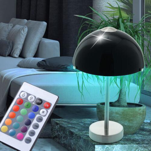 RGB LED Tisch Lampe Wohn Zimmer Beleuchtung Fernbedienung Dimmer Big Light