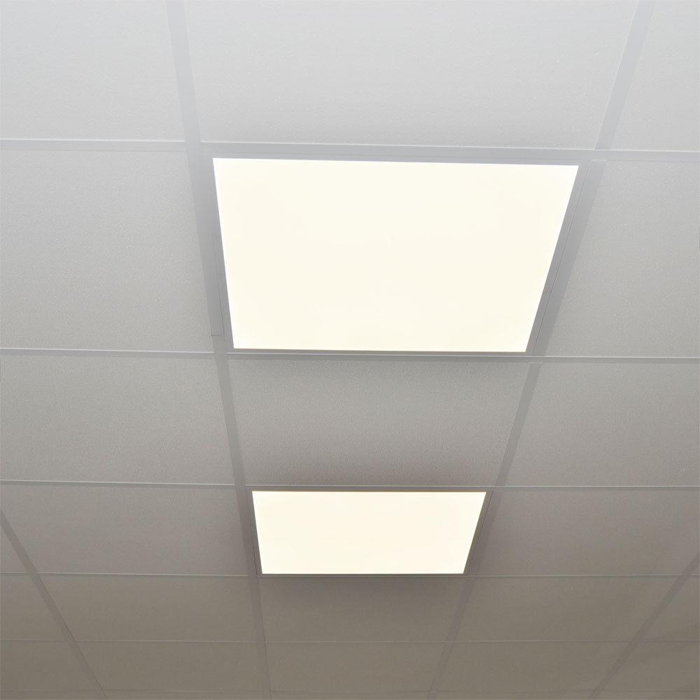 LED 48W Panel Leuchte Ultraslim Dimmbar Deckenlampe Einbauleuchte Wandleuchte