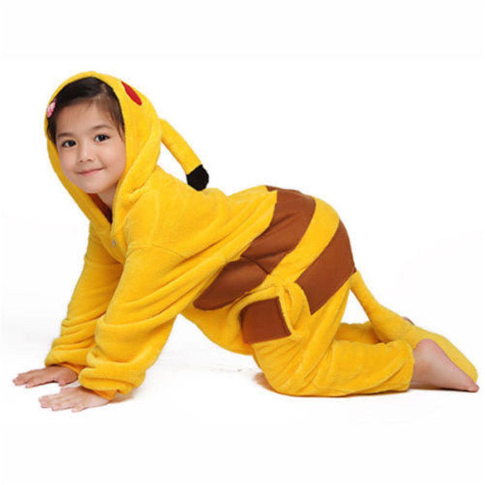 Pokemon Go Pikachu Costume Pajamas Cosplay