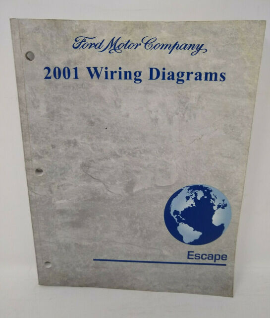 2004 Ford Escape Service Shop Repair Manual Set Oem Service Manual And The Electrical Wiring Diagrams Manual