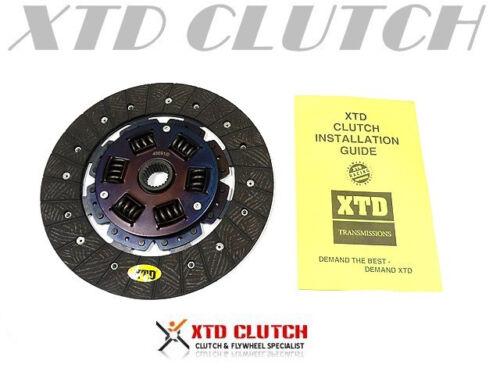 XTD STAGE 2 CLUTCH DISC fits 2004-2010 IMPREZA WRX STi 2.5L TURBO 6spd