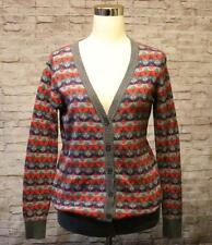 "Boutique Forever 21 Cardigan Sweater M 38"" Chest Multi Color Cotton Tunic EUC"