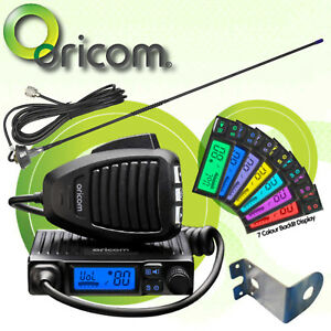 ORICOM-UHF300-MICRO-5WATT-UHF-CB-RADIO-80-CHANNEL-UNIDEN-ANTENNA-GME-Z-MOUNT