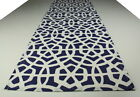 Blue & White Canvas Table runner , Kitchen, dinning, homewares