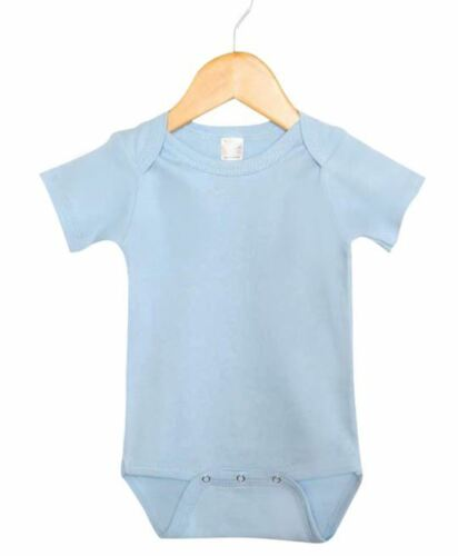 All Colors Blank Baby Bodysuit One Piece Wholesale Bundle Of 6 All Sizes