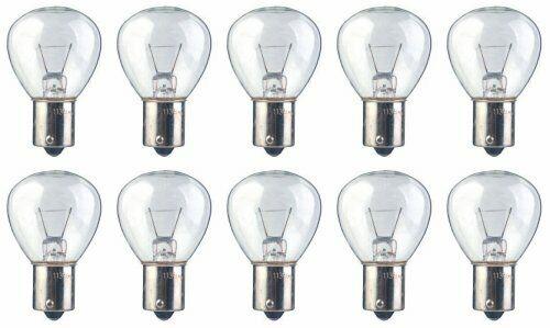13.31 Watt RP11 Shape Pack of 10 bulbs #1139 12.8 Volt BA15s base