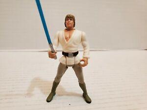 Star Wars Luke Skywalker Action Figure Kenner 1995 Blue Light Saber Loose