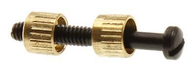Universal Grip Screw and Brass Escutcheons Set   eBay