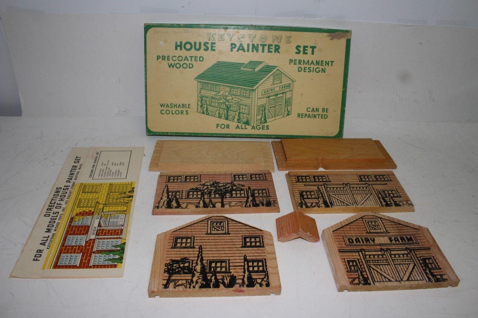 591ms Keystone Maison Peintres Séries, Bois Produits Laitiers Grange Avec