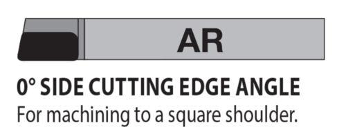 "AR-5 5//16/"" Diameter Right Hand Carbide Tipped Tool Bit C5//C6 Lexington USA"