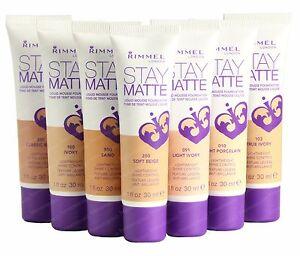 Rimmel London Stay Matte Liquid Mousse Foundation Makeup ...