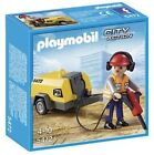 PLAYMOBIL 5472 City Action Construction Worker With Jack Hammer