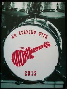 MICKY-DOLENZ-DIRECT-2U-THE-MONKEES-2012-OFFICIAL-TOUR-BOOK-SIGNED-2U-BY-MICKY