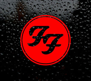 Foo Fighters Decal Logo For Car Van Laptop Vinyl Sticker
