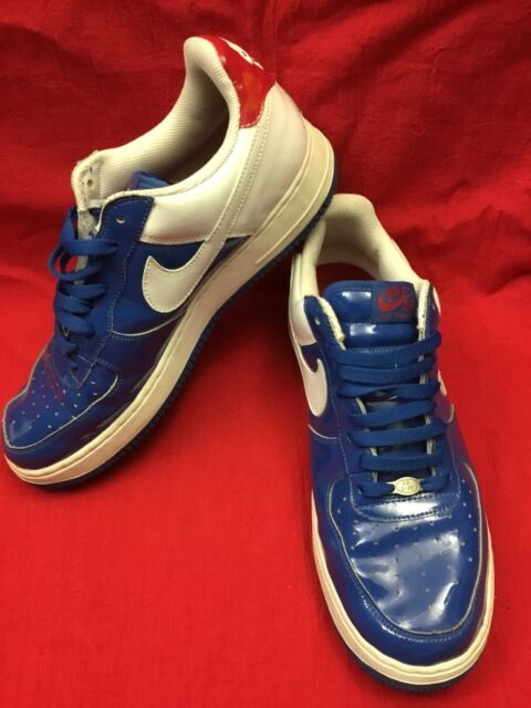 newest 872df 59a77 Nike Air Force 1 Sheed Blue Jay 2005 Size 11 Sneakers Shoes 306347-411