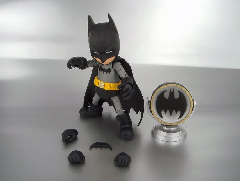 Herocross Hybrid Metal Figuration   004 BATMAN