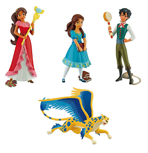 Officielle Bullyland Disney Elena de avalor Figures Jouets Cake Topper Toppers