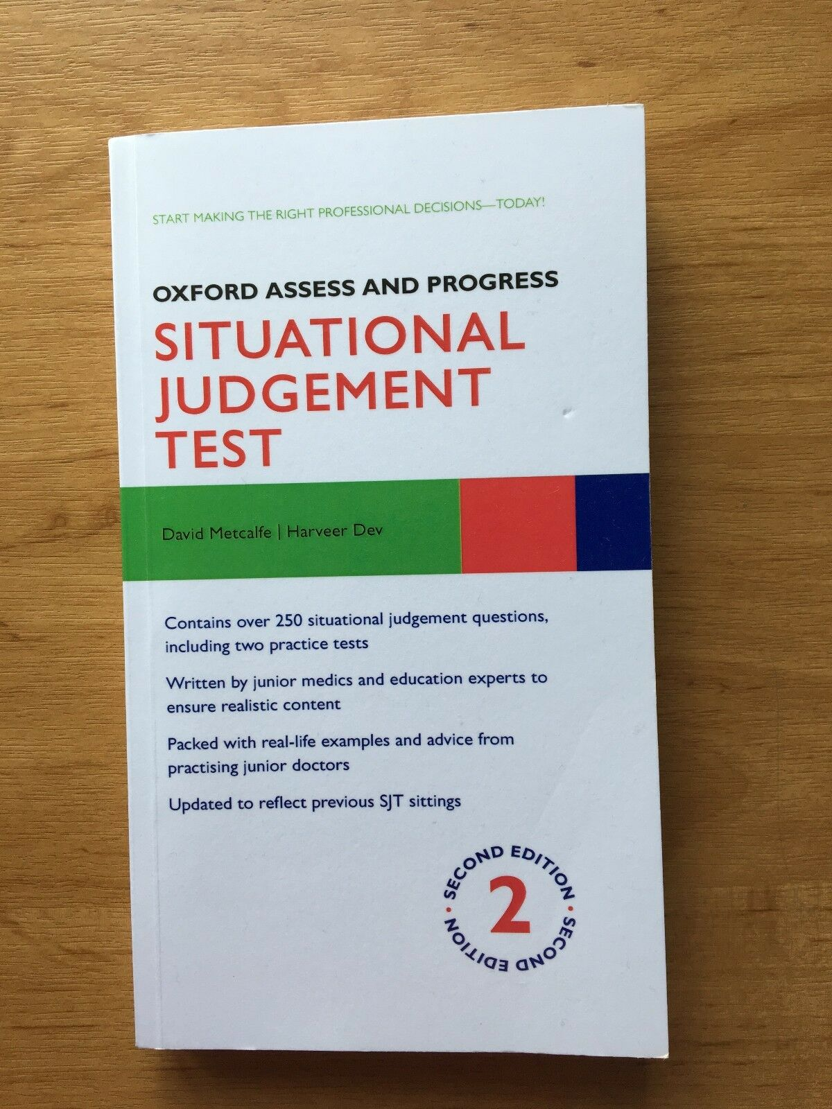 Oxford Assess and Progress: Situational Judgement Test by David Metcalfe,  Harveer Dev (Paperback, 2013)