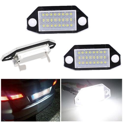 2x 24 LED SMD Kennzeichenbeleuchtung Nummernschild Leuchte für Mondeo MK3 00-07