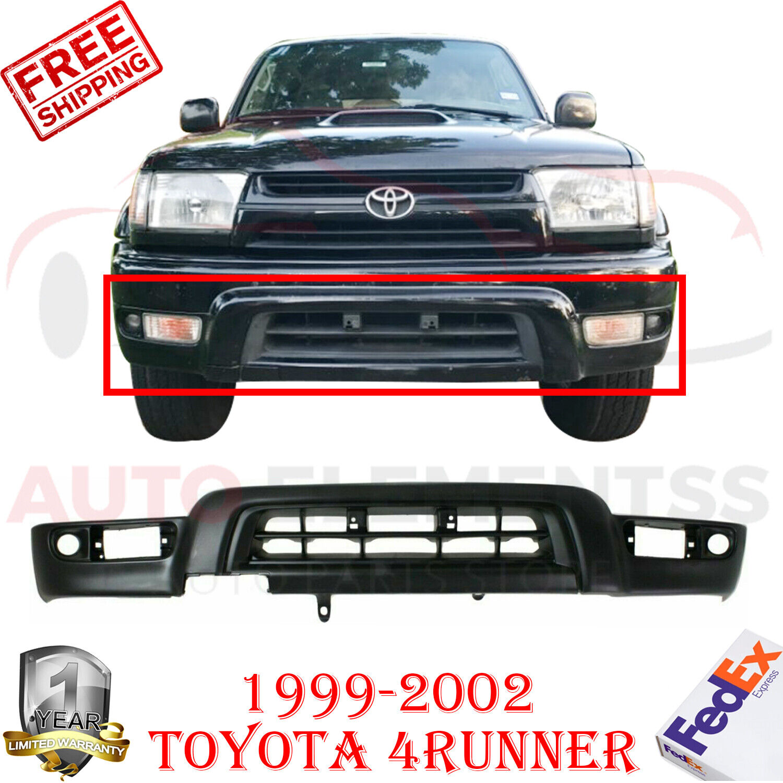 """3/"""" LED Fog Lights Fits 99-02 Toyota 4Runner Bull Bar Black w// SS Skid Plate"""
