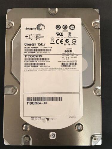 """EMC 118032654-A01 Seagate 300GB ST3300657SS 3.5/"""" SAS 6Gb//s 15K Hard Drive"""