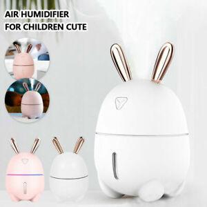 Details about 300ML Cute USB Mini Air Humidifier Essential Ultrasonic Oil Diffuser Portable