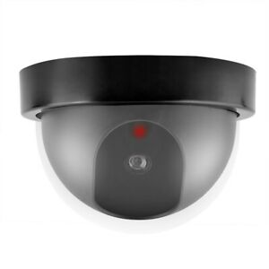 Fake Camera Dummy Waterproof Security CCTV Surveillance with Flashing Red Led