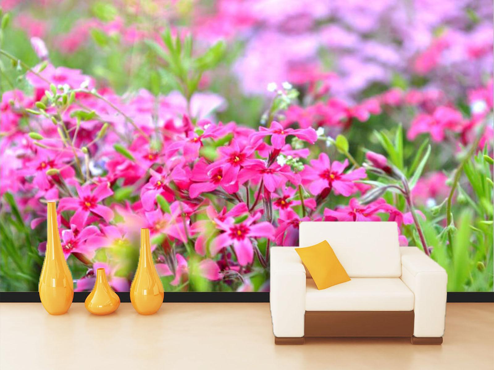 3D Bright Wildflower Plants 375 Wall Paper Wall Print Decal Wall AJ WALLPAPER CA