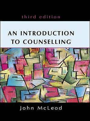 An Introduction to Counselling, Acceptable, John Mcleod, Book