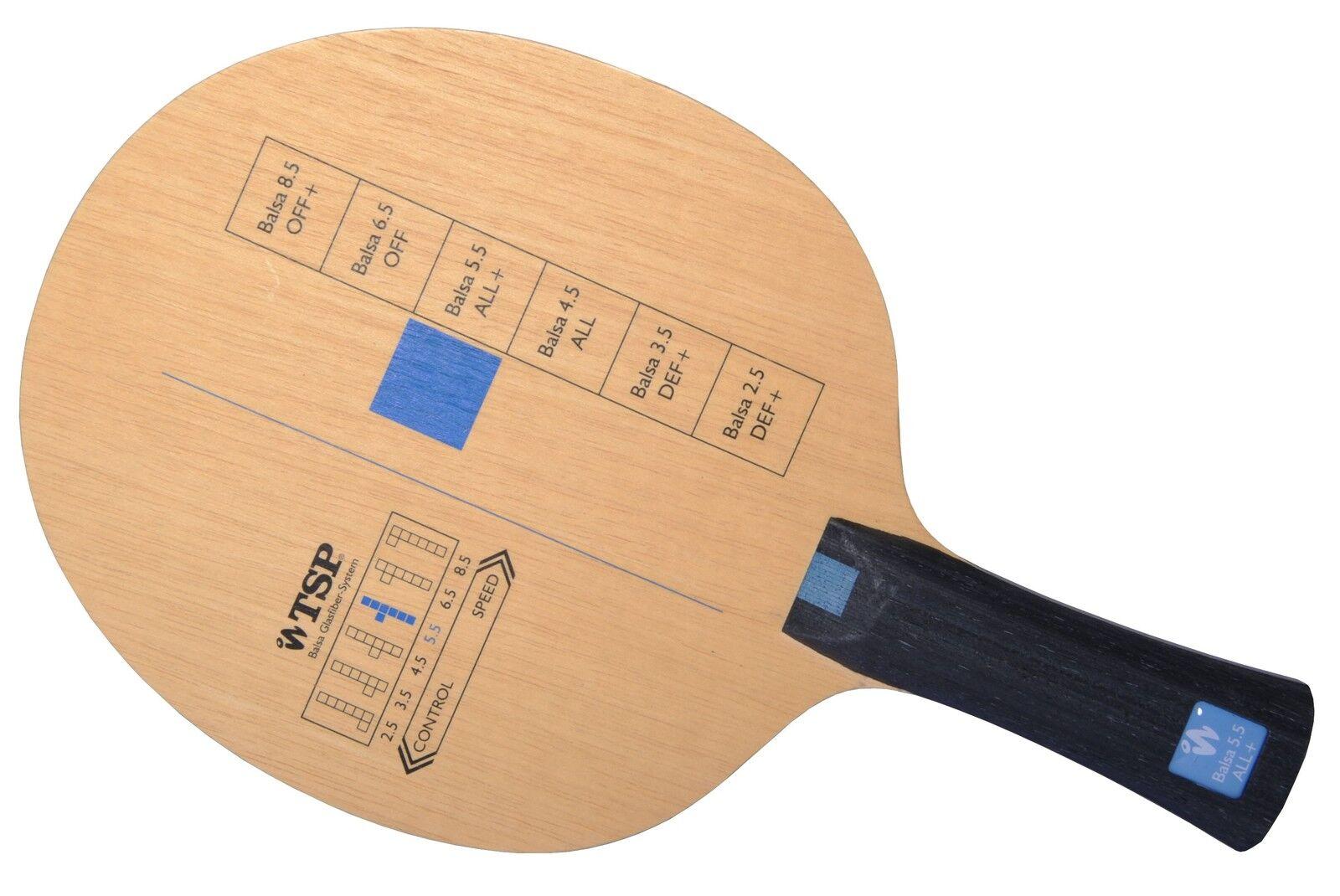 TSP BALSA 5.5 TENNIS DE table-bois Raquette de tennis de table