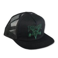 Thrasher Malla Sk8 Cabra Black Green Cap Skategoat