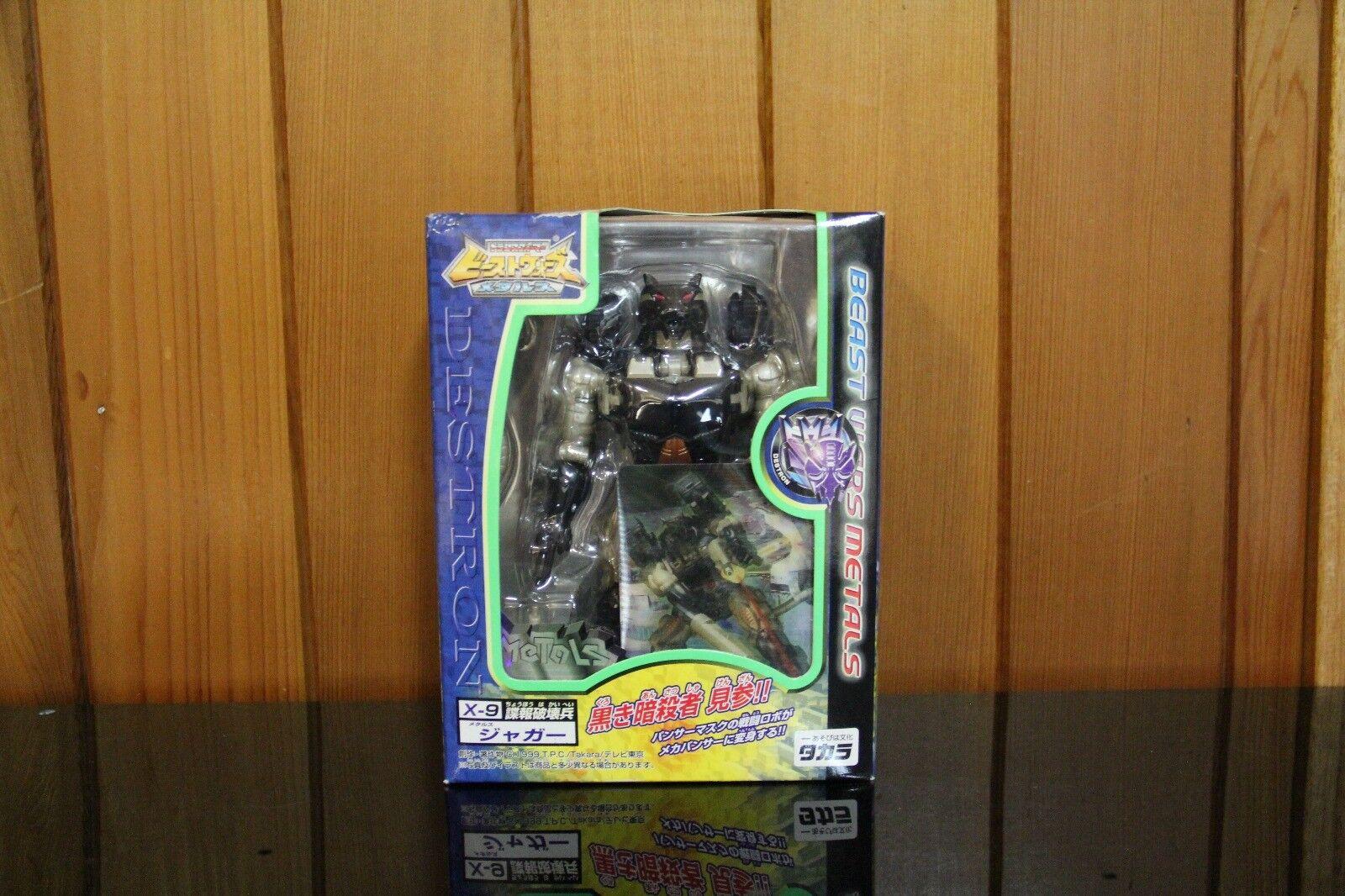 hasta un 60% de descuento Transformers Takara Beast Beast Beast Wars metales X-9 desolación  venta
