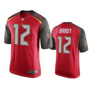 Details about Tom Brady #12 Tamba Bay Buccaneers Men's Red Jersey