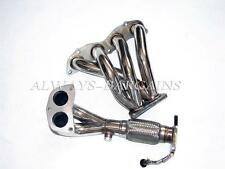 Manzo Stainless Steel Exhaust Header Downpipe Acura TSX 2.4L K24A2 JDM Accord