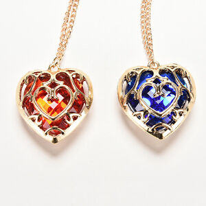 For the Legend of Zelda Skyward Sword Heart Container Necklace Pendant Anime、new