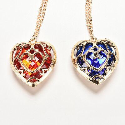 Für die Legend of Zelda Skyward Sword Herz-Behälter Halsketten-Anhänger Anime pt