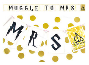 Coco-amp-Bo-Muggle-To-Mrs-Table-Bunting-Harry-Potter-Witches-Hen-Party-Decoration