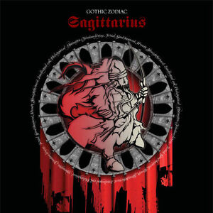Image Is Loading Sagittarius Gothic Zodiac Birthday Card For Him Her